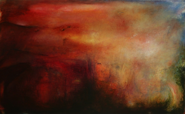 Helen o'toole_Stumble Oil on Canvas 2012